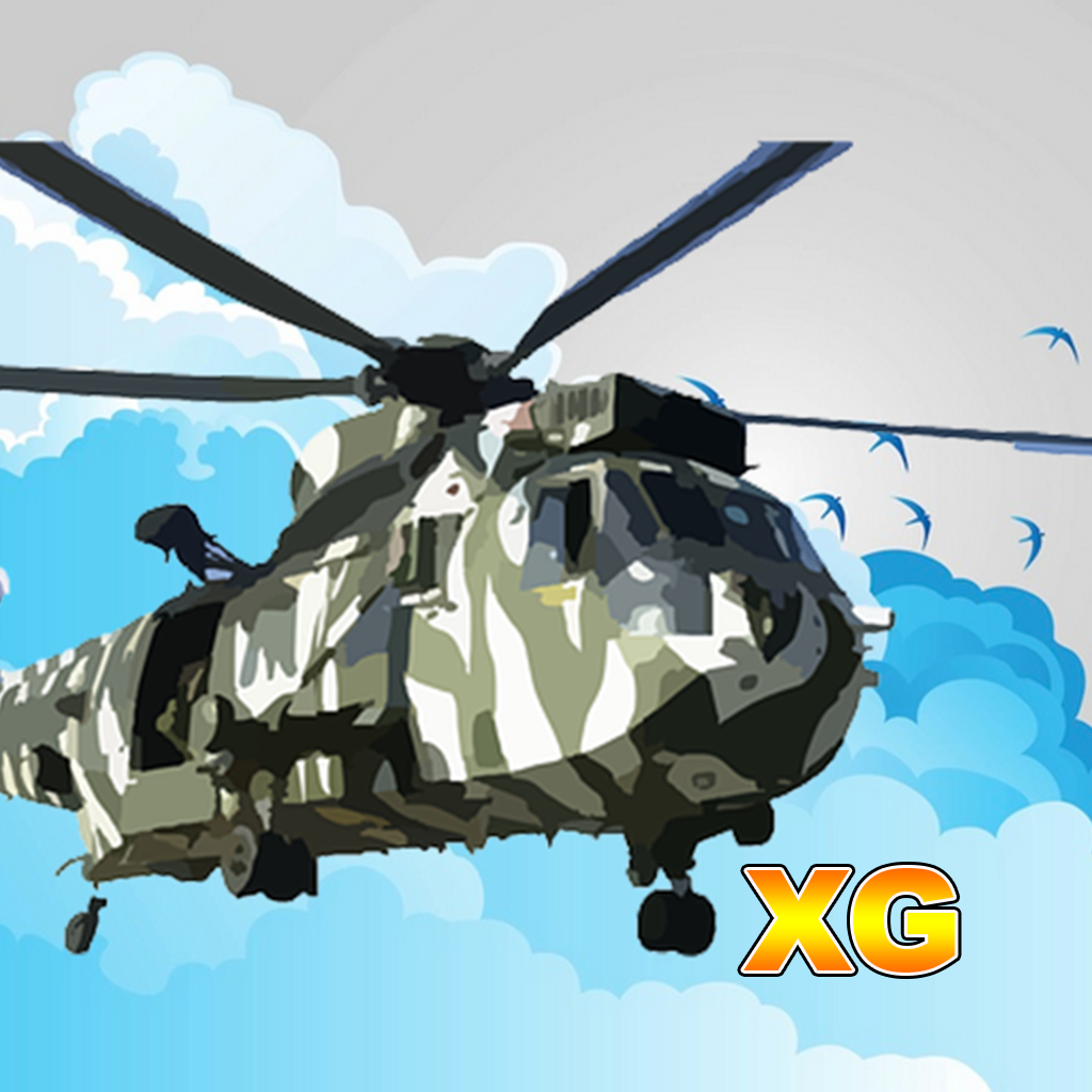 Вертолеты против динозавров - Элитный самолеты небо битва XG